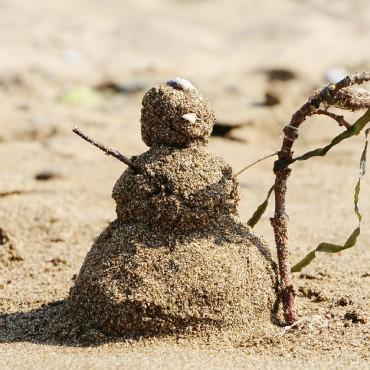 Пляжи Абхазии с песчаным входом