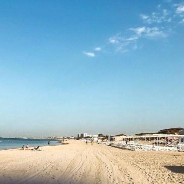 пляж Высокий берег Благовещенская