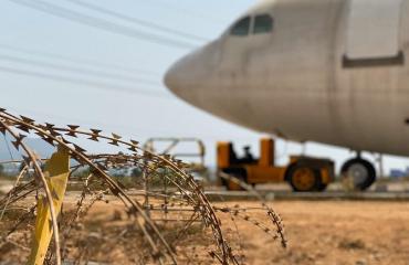 Отмена полетов за границу