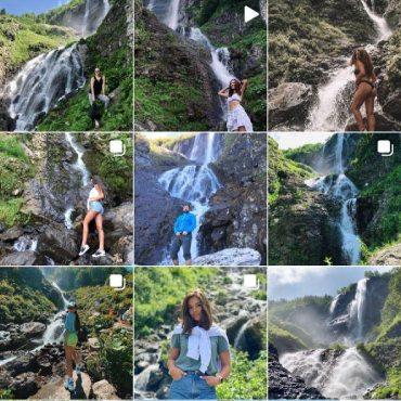 Лучшие фотоместа в Красной Поляне, водопад Поликаря